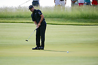 Ryan Palmer (USA) watches his putt on 11 during Thursday's round 1 of the 117th U.S. Open, at Erin Hills, Erin, Wisconsin. 6/15/2017.<br /> Picture: Golffile | Ken Murray<br /> <br /> <br /> All photo usage must carry mandatory copyright credit (&copy; Golffile | Ken Murray)