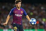 UEFA Champions League 2018/2019 - Matchday 3.<br /> FC Barcelona vs FC Internazionale Milano: 2-0.<br /> Sergi Roberto.