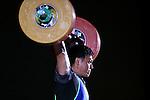 Hiroaki Shiraishi, <br /> MAY 22, 2016 - Weightlifting : <br /> All Japan Weightlifting Championship 2016 Men's -94kg <br /> at Yamanashi Municipal Gymnasium, Yamanashi, Japan. <br /> (Photo by AFLO SPORT)