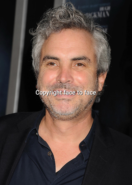 BEVERLY HILLS, CA- SEPTEMBER 12: Director Alfonso Cuar&Atilde;&sup3;n arrives at the 'Prisoners' - Los Angeles Premiere at the Academy of Motion Picture Arts and Sciences on September 12, 2013 in Beverly Hills, California.<br />