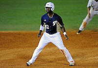 Florida International University outfielder Pablo Bermudez (12) plays against Florida Atlantic University. FAU won the game 5-1 on March 16, 2012 at Miami, Florida.
