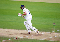 PICTURE BY VAUGHN RIDLEY/SWPIX.COM - Cricket - County Championship, Div 2 - Yorkshire v Northamptonshire, Day 3  - Headingley, Leeds, England - 01/06/12 - Yorkshire's Joe Root hits out.