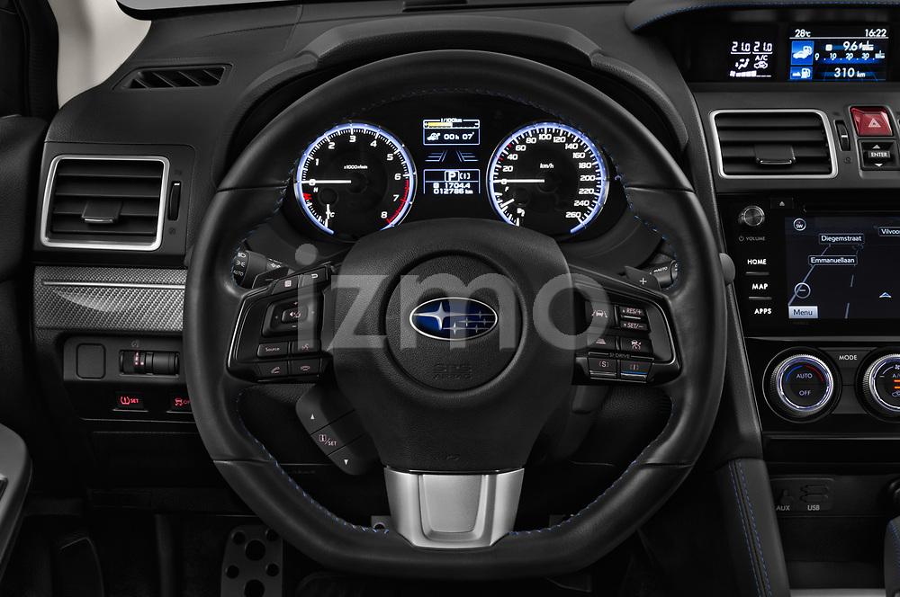 Car pictures of steering wheel view of a 2017 Subaru Levorg GT-S Premium 5 Door Wagon