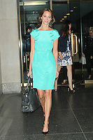 May 11, 2012 Christy Turlington Burns at NBC's Today Show in New York City. Credit: RW/MedaPunch Inc.