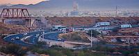 Vertedor y presa de Hermosillo. Sur de Hermosillo u colonia Nuevo Hermosillo.