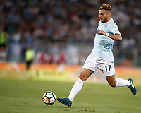 Calcio, Football - Juventus vs Lazio Italian Super Cup Final  <br /> Lazio's Ciro Immobile in action during the Italian Super Cup Final football match between Juventus and Lazio at Rome's Olympic stadium, on August 13, 2017.<br /> UPDATE IMAGES PRESS/Isabella Bonotto