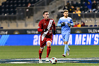Chester, PA - Friday December 08, 2017: Francesco Moore The Indiana Hoosiers defeated the North Carolina Tar Heels 1-0 during an NCAA Men's College Cup semifinal soccer match at Talen Energy Stadium.