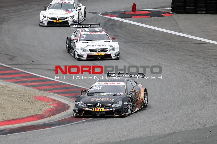 DTM 2015, 07.Lauf Oschersleben, 11.09. - 13.09.15 <br /> Pascal Wehrlein (DEU#94) gooix/Original-Teile Mercedes-AMG C-Coup&eacute;, Paul Di Resta (GBR#3) Silberpfeil Energy Mercedes-AMG C-Coup&eacute; , Martin Tomczyk (DEU#77) BMW Team Schnitzer BMW M4 DTM <br /> <br /> <br /> <br /> <br /> <br /> Foto &copy; nordphoto /  Bratic