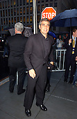 """George Clooney, Executive Producer of the new Home Box Office (HBO) series """"K Street"""" arrives at the Palm Restaurant for the show's premiere in Washington, DC on September 12, 2003.  """"K Street"""" is a new weekly half-hour series that goes inside the world of political consultants in the Nation's Capital..Credit: Ron Sachs / CNP.(RESTRICTION: NO New York or New Jersey Newspapers or newspapers within a 75 mile radius of New York City)"""
