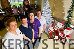 Kerry General Hospital Nurses who are working over Christmas from left: Niamh Ryan, Jackie McCull, Siobhan Lenihan and Patricia Treacy.