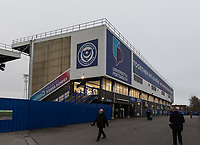 Portsmouth - Fratton Park - Ground view<br /> <br /> Photographer David Horton/CameraSport<br /> <br /> The EFL Sky Bet League One - Portsmouth v Fleetwood Town - Tuesday 10th March 2020 - Fratton Park - Portsmouth<br /> <br /> World Copyright © 2020 CameraSport. All rights reserved. 43 Linden Ave. Countesthorpe. Leicester. England. LE8 5PG - Tel: +44 (0) 116 277 4147 - admin@camerasport.com - www.camerasport.com