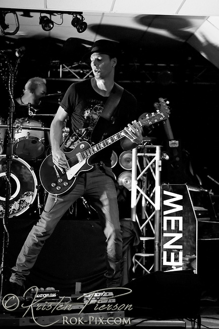MENEW perform at the Rock Junction on July 8, 2012.