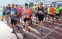 Nederland - Amsterdam - 2017 .  De Marathon van Amsterdam..    Foto mag niet in negatieve context gebruikt worden.  Foto Berlinda van Dam / Hollandse Hoogte
