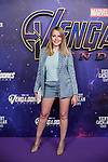 Esmeralda Moya attends to Avengers Endgame premiere at Capitol cinema in Madrid, Spain. April 23, 2019. (ALTERPHOTOS/A. Perez Meca)