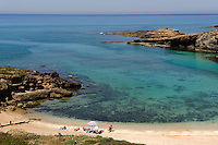 Strand von Argentiera, Provinz Sassari, Nord - Sardinien, Italien