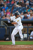 Akron RubberDucks catcher Jeremy Lucas (12) at bat during a game against the Richmond Flying Squirrels on July 26, 2016 at Canal Park in Akron, Ohio .  Richmond defeated Akron 10-4.  (Mike Janes/Four Seam Images)