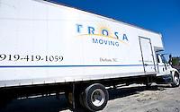 TROSA moving truck.