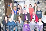 5895-5898.---------.Saddle Up.---------.Irish Pony Society,Kerry Area,held their AGM and awards night in Kirbys BrogueInn Rock St Tralee last Friday,present were,Kneeling L-R Laura Doherty,Roan Hegarty,Rebecca O'Connell,Misha&Cloe Richardson and Lucy Knight.(Seated)L-R John Browne(President of the Kerry Pony Society)Michael Grace(National Chairman IPA)John Hegarty(Chairman of the Kerry region IPA)and Tom O'Connor(Welsh Breeders Association)(Back)L-R John O'Sullivan(Treasurer KPS)Cathrine Tate(Secretary KPS)Jack O'Sullivan,Lin Knight,Christina Doyle,Eamonn Browne,Tim hurley and Jer O'Sullivan..
