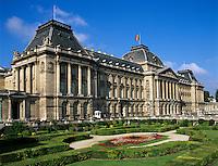 Belgium, Province Brabant, Brussels: Royal Palace | Belgien, Provinz Brabant, Bruessel: Koenigspalast