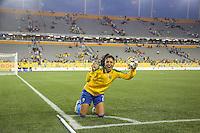 HAMILTON, CANADA, 25.07.2015 - PAN-FUTEBOL - Maurine do Brasil durante partida contra a Colombia em partida da final do futebol feminino nos jogos Pan-americanos no Estadio Tim Hortons em Hamilton no Canadá neste sábado, 25. (Foto: William Volcov/Brazil Photo Press)