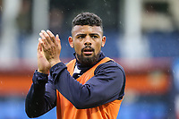 Isaac Vassell of Luton Town was up ahead of the Sky Bet League 2 Play Off Semi Final 2 leg match between Luton Town and Blackpool at Kenilworth Road, Luton, England on 18 May 2017. Photo by David Horn.