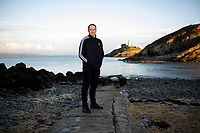 Alun Wyn Jones at Mumbles, Swansea, Wales, UK. Wednesday 16th January 2019