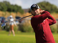 Hannes Boch (Ballybunion) on the 1st tee during the Munster Final of the AIG Senior Cup at Tralee Golf Club, Tralee, Co Kerry. 12/08/2017<br /> <br /> Picture: Golffile | Thos Caffrey<br /> <br /> All photo usage must carry mandatory copyright credit     (&copy; Golffile | Thos Caffrey)