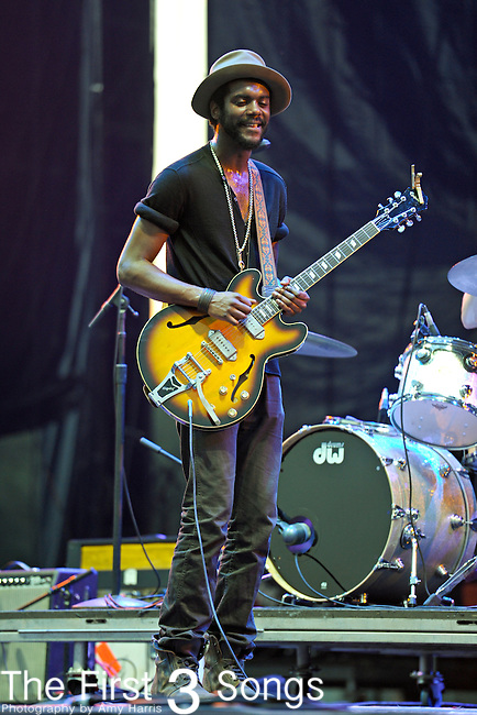 Gary Clark Jr. performs during The Voodoo Experience at City Park in New Orleans, Louisiana.