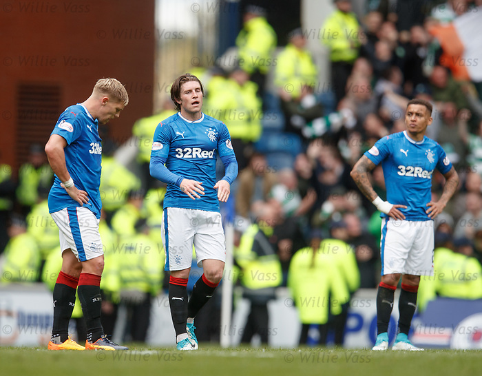 Rangers dejection