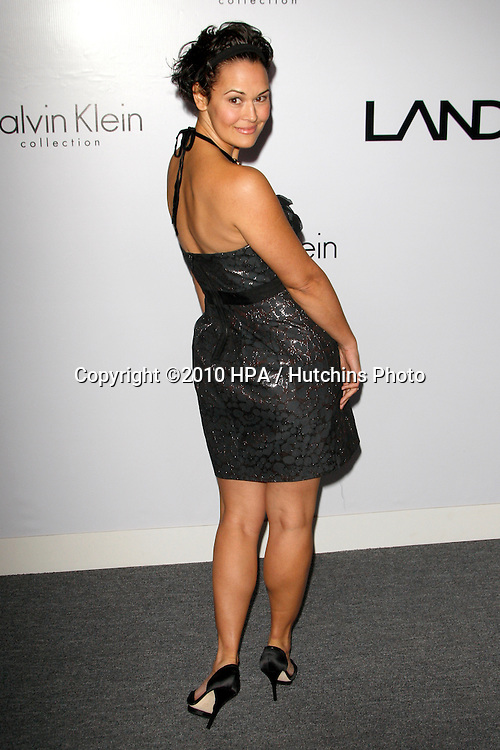 Sydney Penny.arriving at the Calvin Klein collection and LOS ANGELES NOMADIC DIVISION Present a Celebration of L.A. ARTS MONTH.Calvin Klein Store.Los Angeles, CA.January 28, 2010.©2010 HPA / Hutchins Photo....