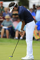 Bubba Watson (USA) putts on the 9th green during Sunday's Final Round of the WGC Bridgestone Invitational 2017 held at Firestone Country Club, Akron, USA. 6th August 2017.<br /> Picture: Eoin Clarke | Golffile<br /> <br /> <br /> All photos usage must carry mandatory copyright credit (&copy; Golffile | Eoin Clarke)
