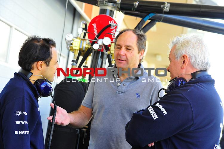 Felipe Massa (BRA), Williams GP - Gerhard Berger (AUT)<br />  Foto &copy; nph / Mathis