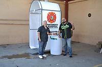Tunel Sanitizante a Bomberos de Ciudad Obregon