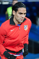 Falcao go out tunnel