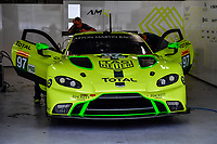 #97 ASTON MARTIN RACING (GBR) ASTON MARTIN VANTAGE AMR GTE PRO ALEXANDER LYNN (GBR) MAXIME MARTIN (BEL)