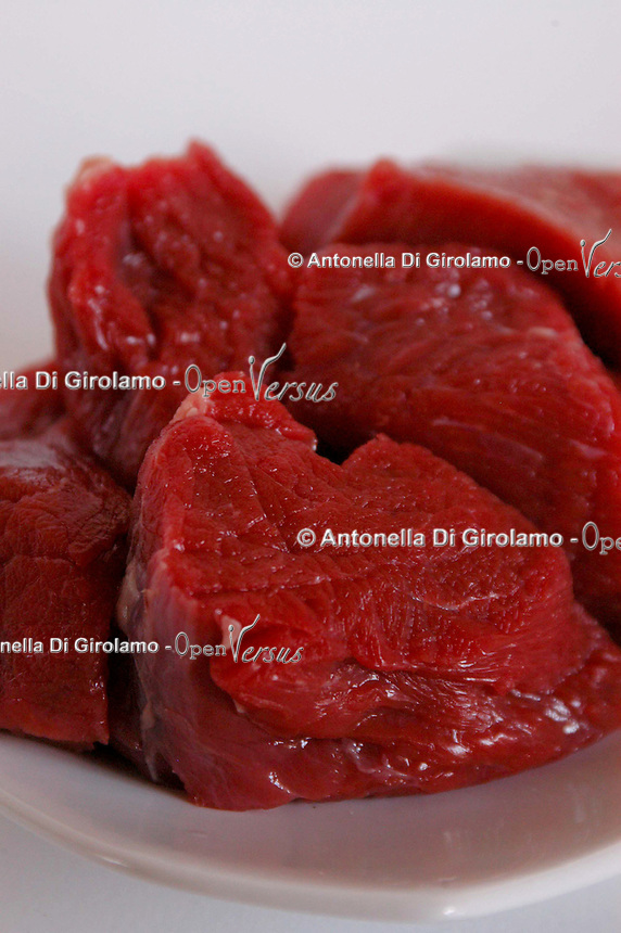 Filetto di manzo. Fillet of beef...