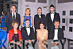 James O'Donoghue who was awarded the footballer of the year with his family and friends at the Munster GAA awards in the Malton Hotel on Saturday night front row l-r: Rita and James O'Donoghue, Christina Tangney, Diarmuid O'Donoghue. Back row: Enda Walsh, Breda Walsh, Sean O'Leary and Jamie O'Sullivan
