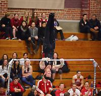 Stanford, CA; Saturday January 19, 2013: Men's Gymnastics, Stanford vs Nebraska, Oklahoma, California.