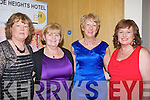 FRIENDS: The best of friends Helen Boyle, Breda Browne,Angela O'Sullivan and Kay O'Carroll who enjoyed the Ballyduff Hurling Club GAA social in Ballyroe Heights Hotel, Tralee on Saturday night....