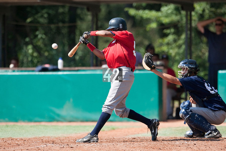 Baseball - MLB European Academy - Tirrenia (Italy) - 21/08/2009 - Andy Paz (France)