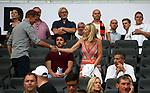 12.08.2018, Commerzbank - Arena, Frankfurt, GER, Supercup, Eintracht Frankfurt vs FC Bayern M&uuml;nchen , <br />DFL REGULATIONS PROHIBIT ANY USE OF PHOTOGRAPHS AS IMAGE SEQUENCES AND/OR QUASI-VIDEO.<br />im Bild<br />Trainer Julian Nagelsmann (Hoffenheim), Benjamin Gl&uuml;ck, Pr&auml;sident Peter Hofmann<br /> <br /> Foto &copy; nordphoto / Bratic