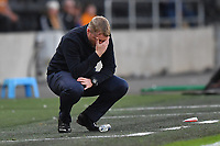 Hull City's Manager Grant McCann reacts to his team missing a penalty<br /> <br /> Photographer Dave Howarth/CameraSport<br /> <br /> The Premier League - Hull City v Blackburn Rovers - Tuesday August 20th 2019  - KCOM Stadium - Hull<br /> <br /> World Copyright © 2019 CameraSport. All rights reserved. 43 Linden Ave. Countesthorpe. Leicester. England. LE8 5PG - Tel: +44 (0) 116 277 4147 - admin@camerasport.com - www.camerasport.com
