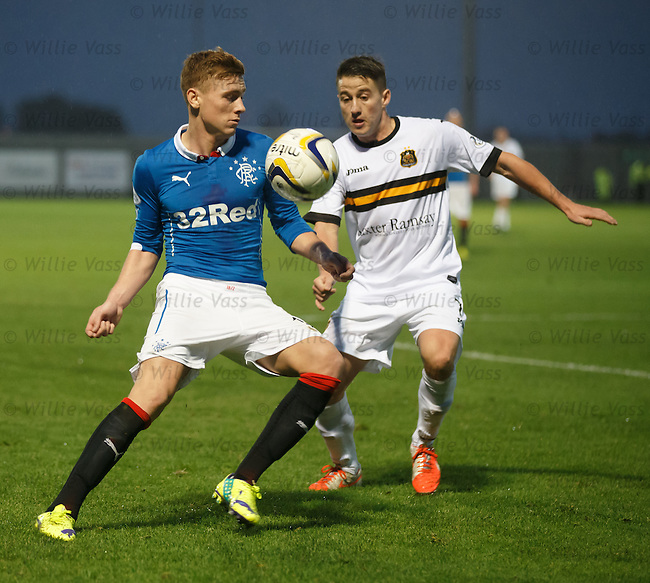 Lewis Macleod and Mark Gilhaney