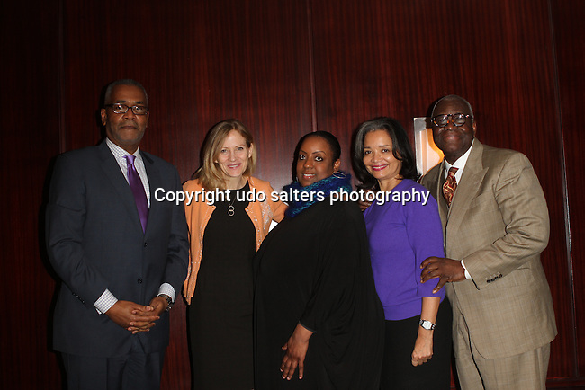 NY City Planning Commission's Vice Chairman, New York Road Runners President & CEO Mary Wittenberg, Melba's Restaurants Owner Melba Wilson and Apoll Theater Foundation's President and CEO Jonelle Procope Attend The Greater Harlem Chamber of Commerce and its media partners WBLS-FM and New York Amsterdam News presents: New York City Tourism 2013, Hosted by NYC & CO, Marriott, Harlem Arts Alliance and I LOVE NY Held at the Marriott Marquis Hotel, NY