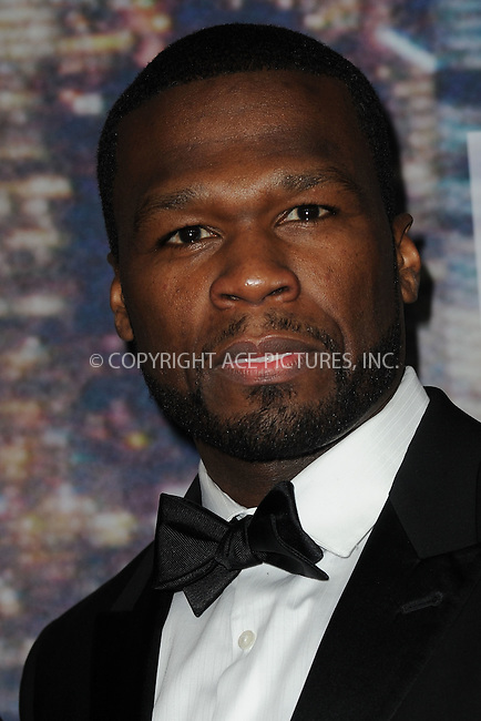 WWW.ACEPIXS.COM<br /> February 15, 2015 New York City<br /> <br /> Curtis Jackson walking the red carpet at the SNL 40th Anniversary Special at 30 Rockefeller Plaza on February 15, 2015 in New York City.<br /> <br /> Please byline: Kristin Callahan/AcePictures<br /> <br /> ACEPIXS.COM<br /> <br /> Tel: (646) 769 0430<br /> e-mail: info@acepixs.com<br /> web: http://www.acepixs.com