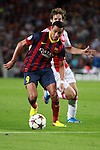 UEFA Champions League 2013/2014.<br /> FC Barcelona vs AFC Ajax: 4-0 - Game: 1.<br /> Alexis Sanchez vs Daley Blind.