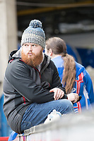 Wrapped up warm at Portman Road during Ipswich Town vs Accrington Stanley, Sky Bet EFL League 1 Football at Portman Road on 11th January 2020