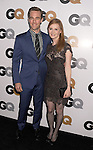 LOS ANGELES, CA - NOVEMBER 13: James Van Der Beek; Kimberly Van Der Beek . arrive at the GQ Men Of The Year Party at Chateau Marmont Hotel on November 13, 2012 in Los Angeles, California.