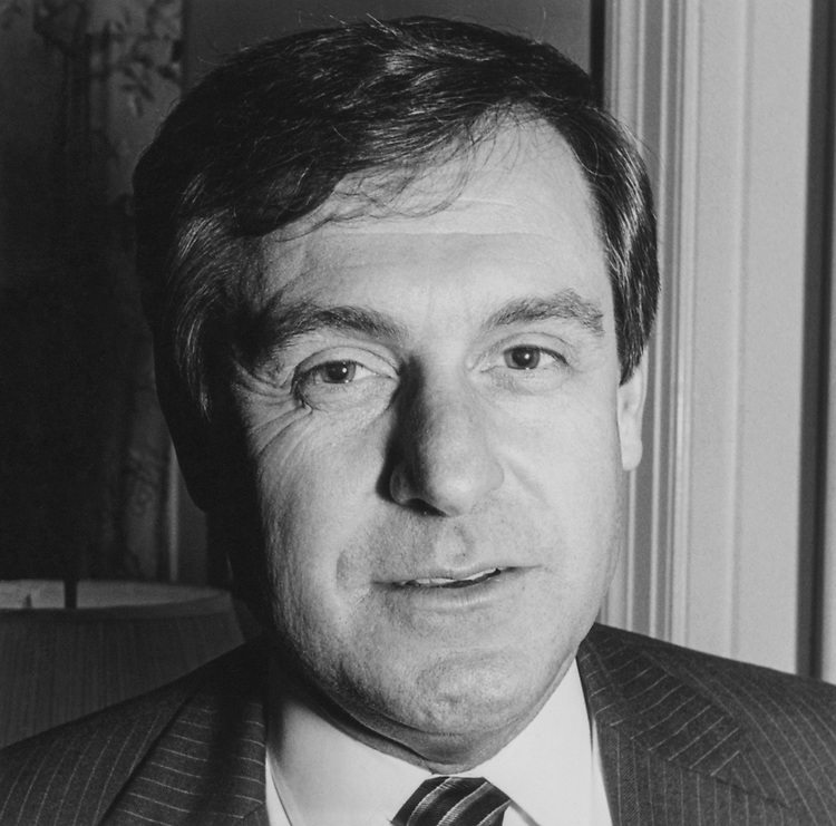 Close-up of Rep. Daniel Schaefer, R-Colo. 1984 (Photo by CQ Roll Call)