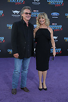 19 April 2017 - Hollywood, California - Kurt Russell, Goldie Hawn. Premiere Of Disney And Marvel's &quot;Guardians Of The Galaxy Vol. 2&quot; held at Dolby Theatre. <br /> CAP/ADM/PMA<br /> &copy;PMA/ADM/Capital Pictures